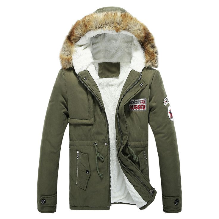 2015 Men Downs Jacket Casual Slim Winter Jacket Coats Warm Thickening  Middle Long Clothing Casual Fur