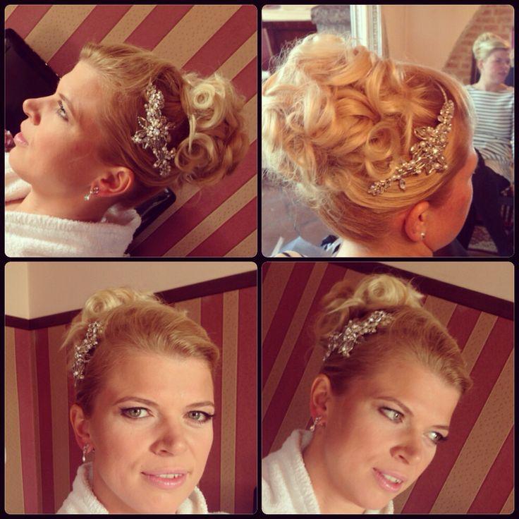 Panna młoda w dniu Ślubu:)