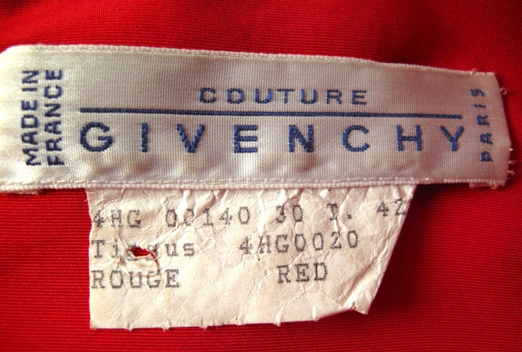 1000 images about vintage couture clothing labels on for Couture labels