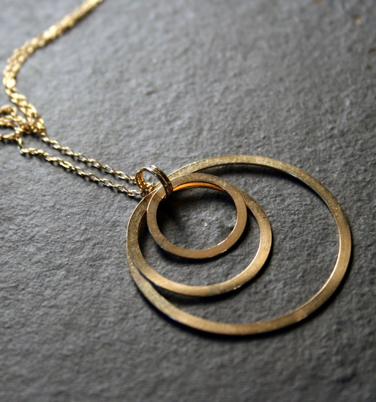 Simple Geometric Jewelry Gold Necklace Gold