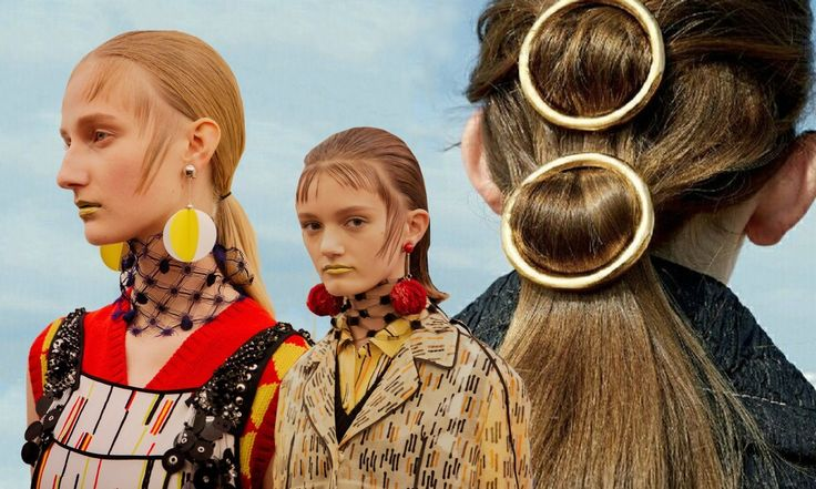 Stella von Senger shows how best to style your babyhairs: a bit of hairoil and some hairwax et voilà, a fabulous look