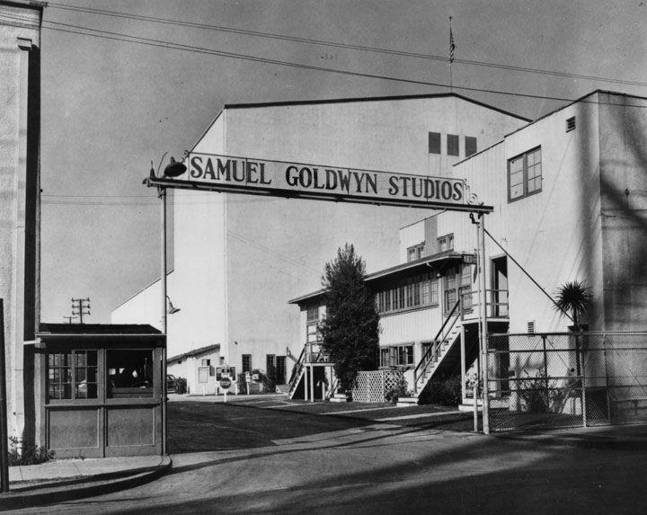 Samuel Goldwyn Studios across from the Formosa Cafe