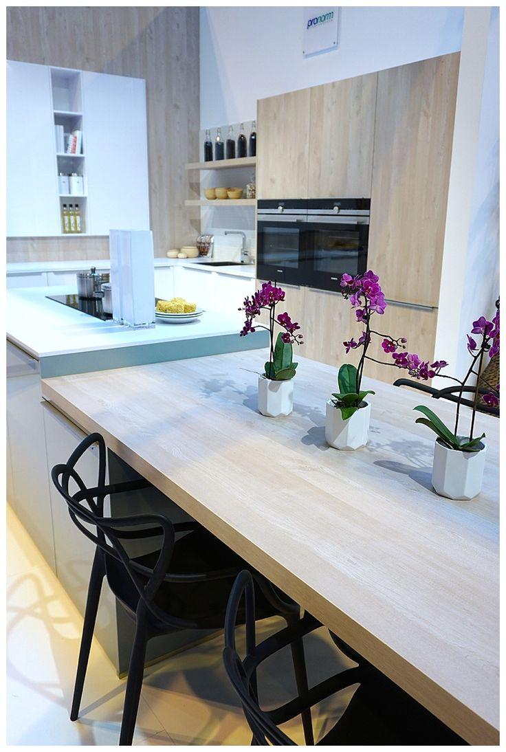 Innovative New Timber Veneers Noted For 2016 At KBB Birmingham Pale Veneer Used As Kitchen DesignsBathroom