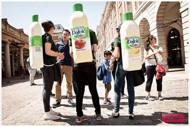 Volvic Juiced - Covent Garden - 27 May 2012