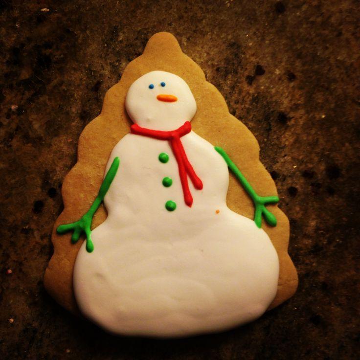 snowman cookies  #SweetSweetJules