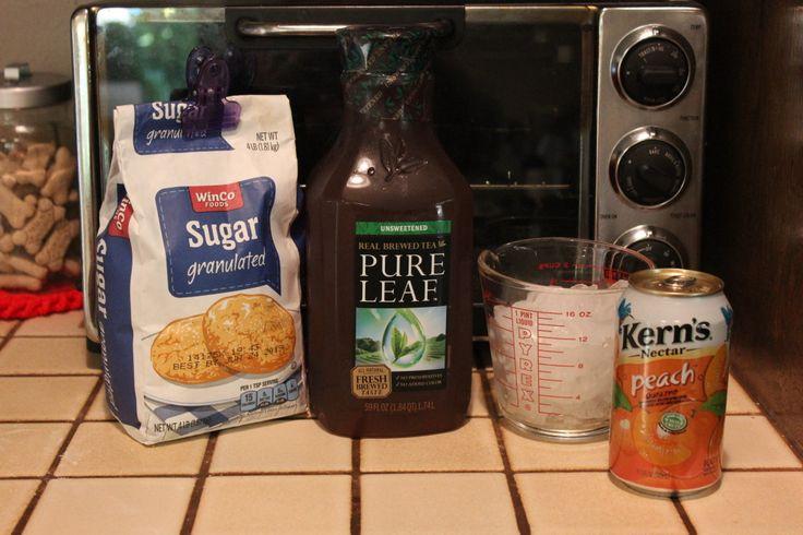 Olive Garden Peach Tea Recipe | Budget Savvy Diva