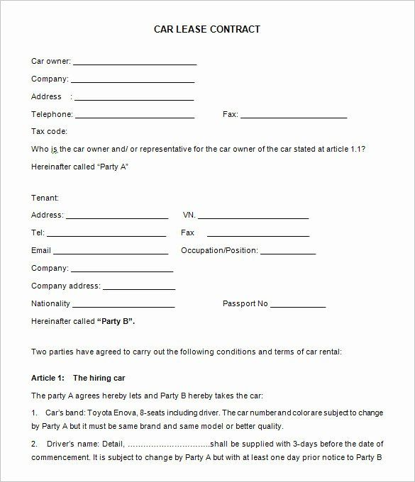 sample car rental agreements elegant auto lease agreement