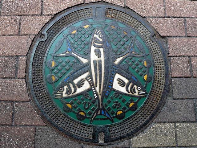 Himi Toyama, manhole cover (富山県氷見市のマンホール) | Flickr - Photo Sharing!