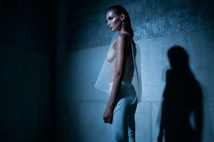 Designer: Trousers: Boska by Eliza BorkowskaStyle: Robert Łosyk Make-up: Anna Akińcza Model: Oktawia @ MILK Assist & retouch: Paul Drozdowski Photo: Kamil Duszynski