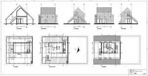 Dit is een definitief ontwerp tekeningen van de binnenkant en buitenkant van een gebouw of huis - Ontwerp buitenkant ontwerp ...
