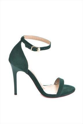 Yeşil Topuklu Ayakkabı 7749112602 Fox Shoes | Trendyol