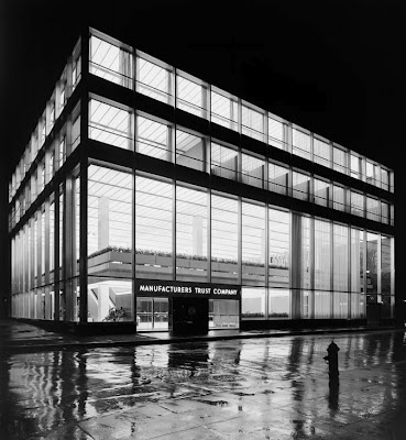 The landmarked building designed by Gordon Bunshaft for Skidmore Owings and Merrill in 1954