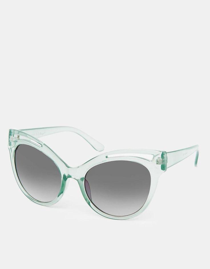 AJ Morgan   AJ Morgan Flamingo Cat-Eye Sunglasses at ASOS