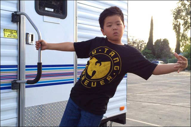 Hudson Yang. This show is gonna be awesome. Look at this awesome kid.