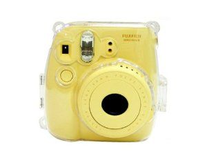 NodArtisan Transparent Crystal fuji mini case for Fujifilm Instax Mini 8 Case