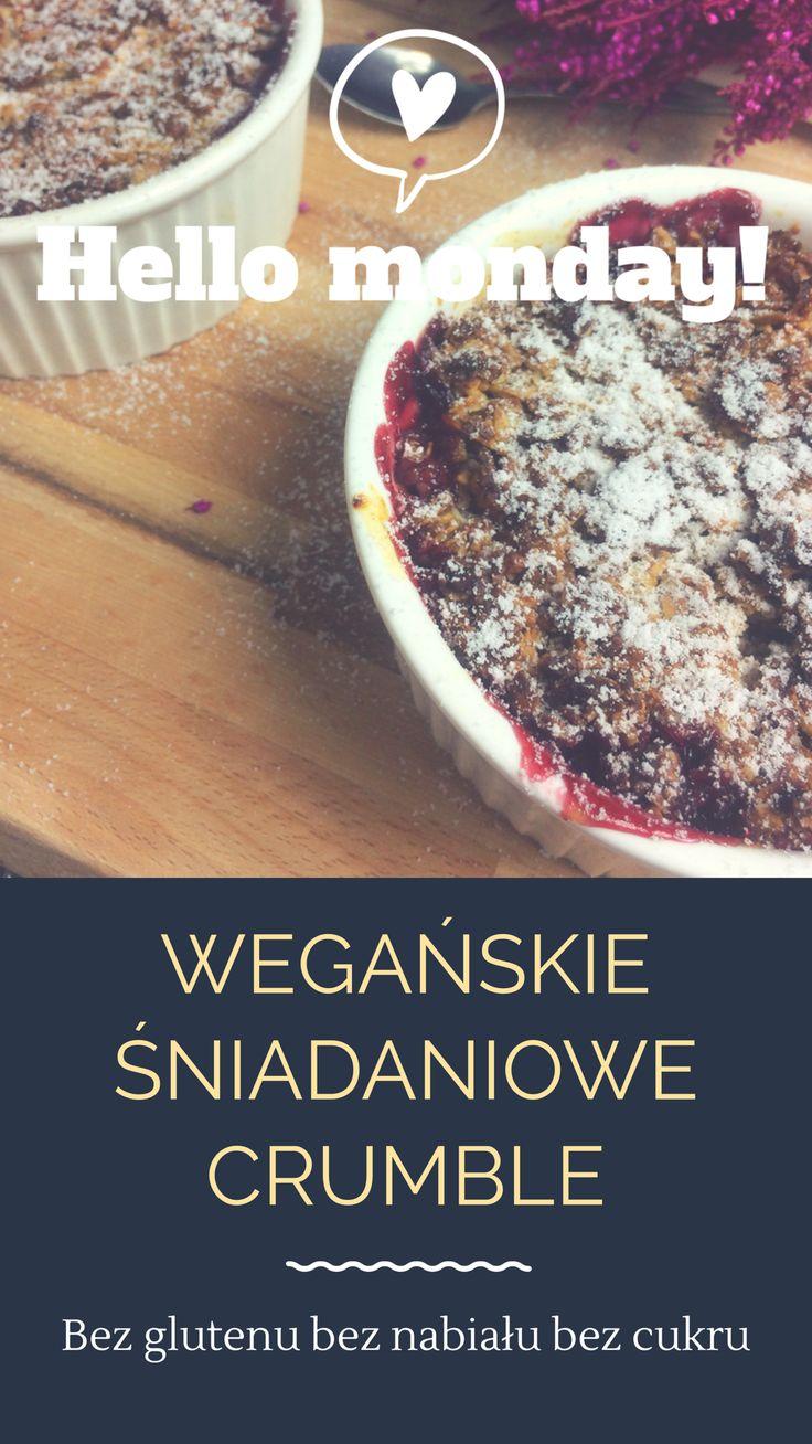 Wegańskie i bezglutenowe ciasto ze śliwkami i brzoskwiniami