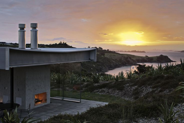 Island Retreat by Fearon Hay Architects - Living Room Ideas, Interior Design, Home Design, House Design