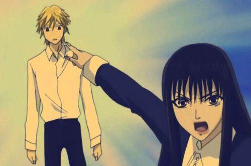 Yamato Nadeshiko Shichi Henge ,the wallflower  , anime