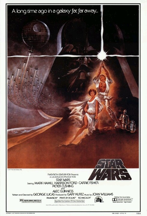 1977 - La guerra de las galaxias. Episodio IV: Una nueva esperanza - George Lucas