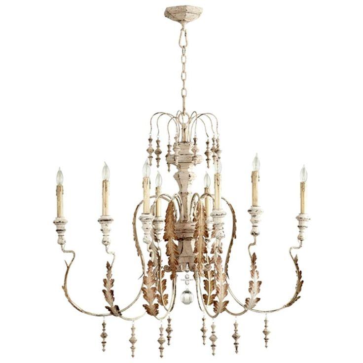 Cyan design motivo eight light chandelier 5051