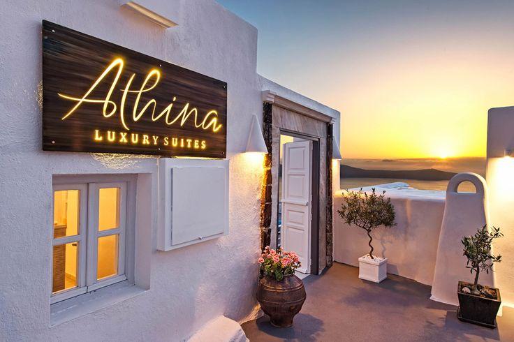 Santorini's Athina Luxury Suites Receives Two International Accolades