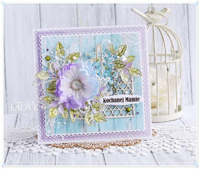 Mother Cards Cards Handmade Paper Flower Tutorial