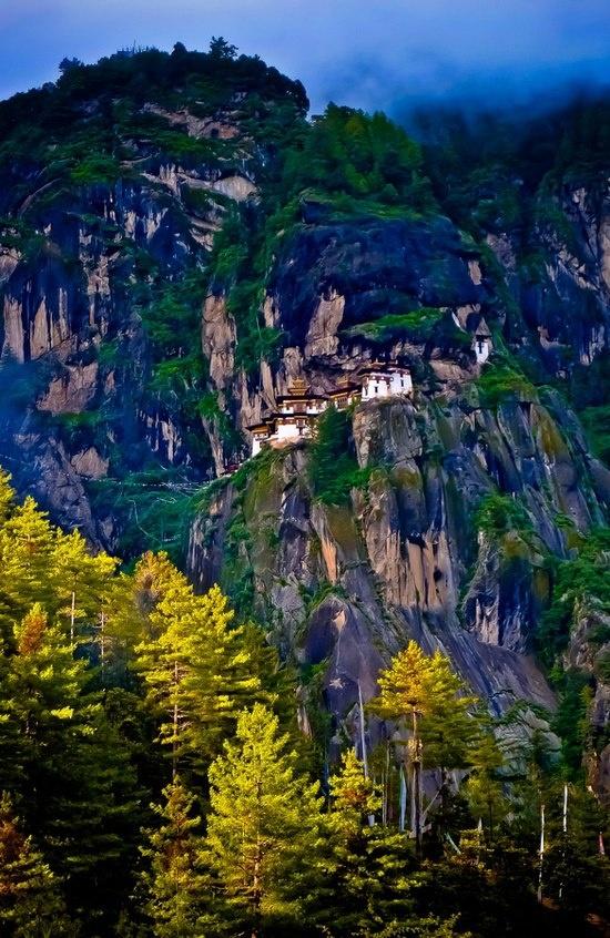 The Tiger's Nest monastery, Paro, Bhutan