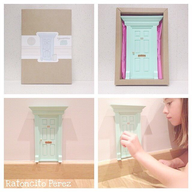 Elf Door Fairy Doors The Doors Pink Princess Tooth Fairy Original Gifts Princesses  sc 1 st  Pinterest & 388 best Doll houses images on Pinterest | Tooth fairy Puertas and ...