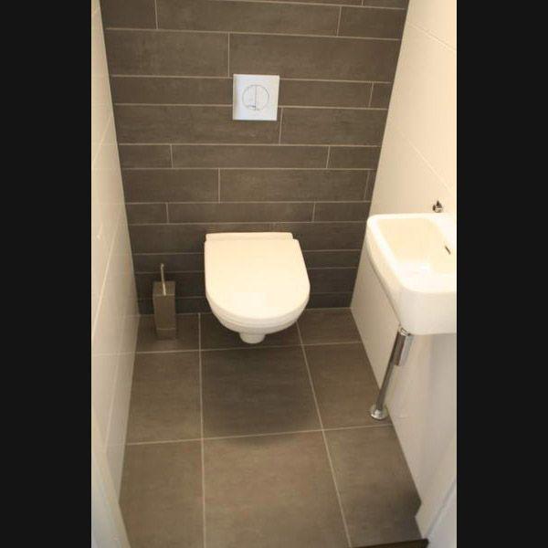 Toilet mosa terra Maestricht stroken en indirecte verlichting