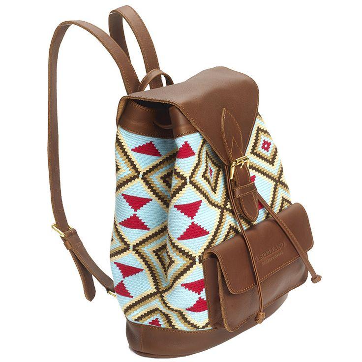 Wayuu handmade backpack
