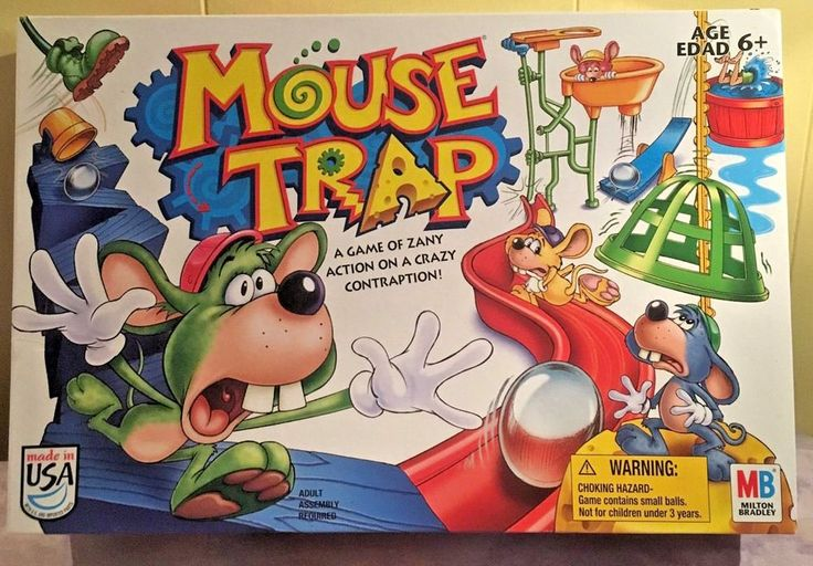 Mouse Trap Board Game Complete Great Condition! Milton Bradley - Barely Used! #MiltonBradley
