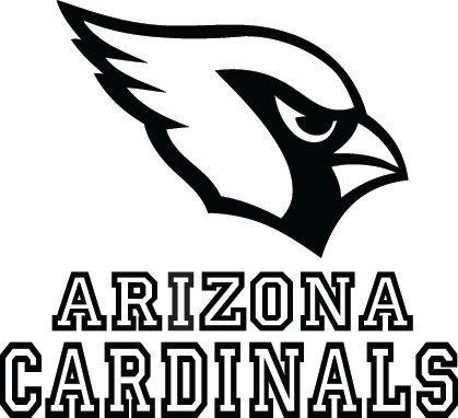 Arizona Cardinals Football Logo & Name Custom Vinyl by VinylGrafix