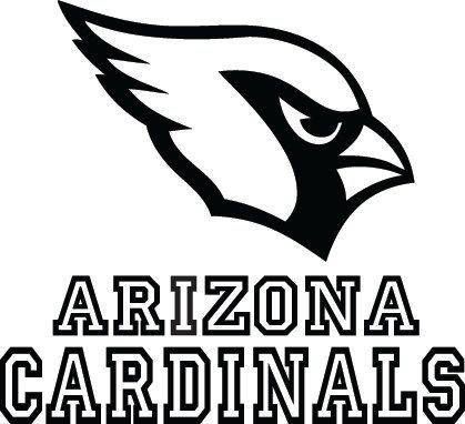 Arizona Cardinals Football Logo & Name Custom Vinyl by VinylGrafix