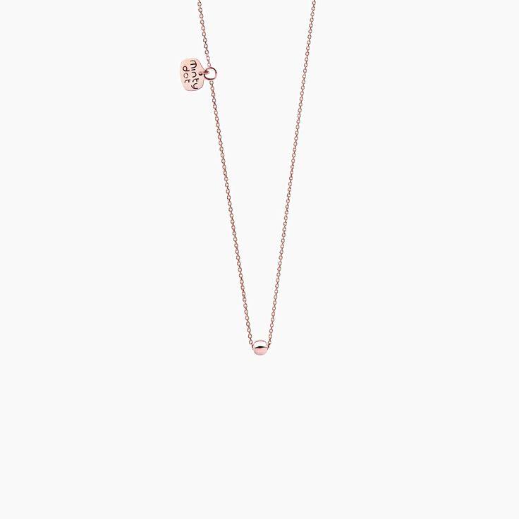 PETIT KULKA - naszyjnik z różowego złota