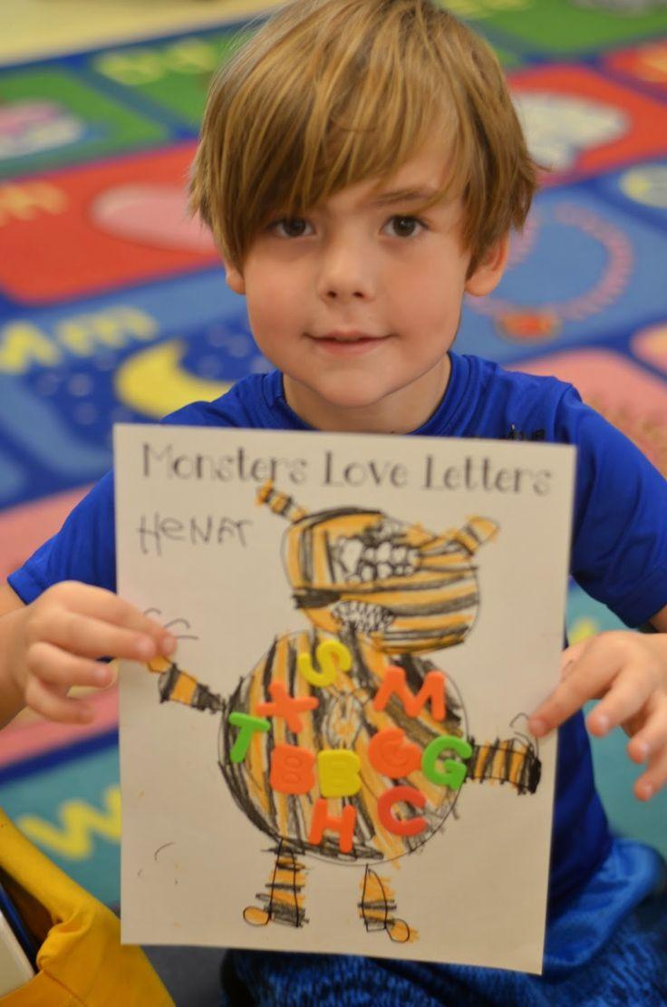 24 best monster themed kindergarten activities images on pinterest