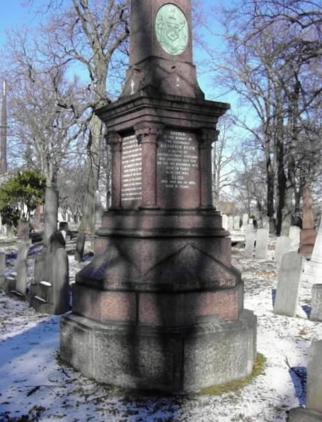 alexander keith's grave