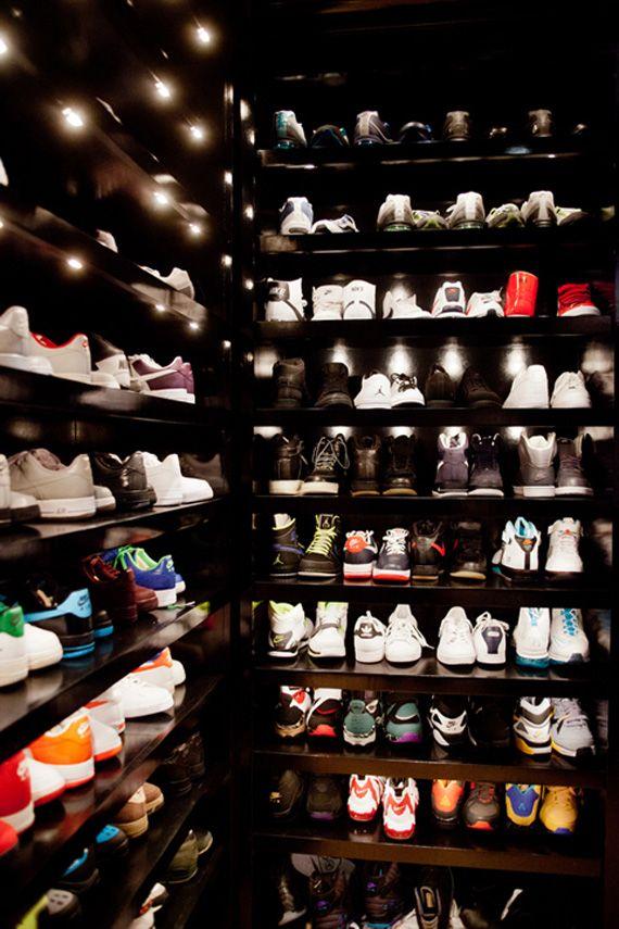 joe johnson's sneakers closet