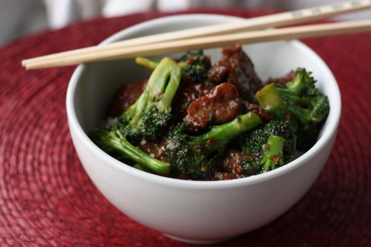 Home made Chinese Beef and Broccoli. Delish!
