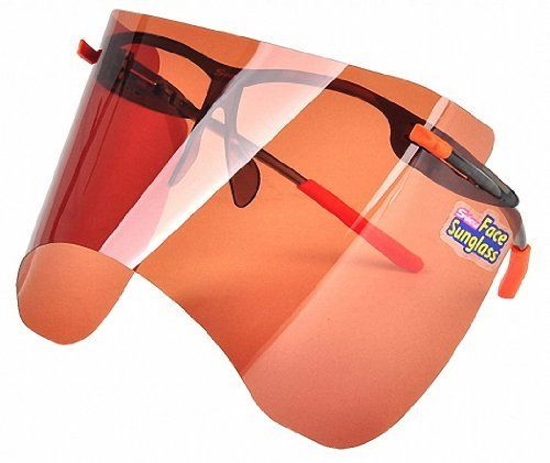 #beachaccessoriesstore S-view Face Brown Film Sunglass Sunscreens Tanning Products Outdoor Gardening Sports Anti-uv… #beachaccessoriesstore