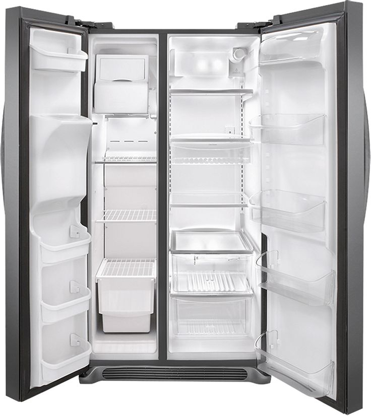 Frigidaire Gallery 26.0 Cu. Ft. Frost-Free Side-by-Side Refrigerator with…