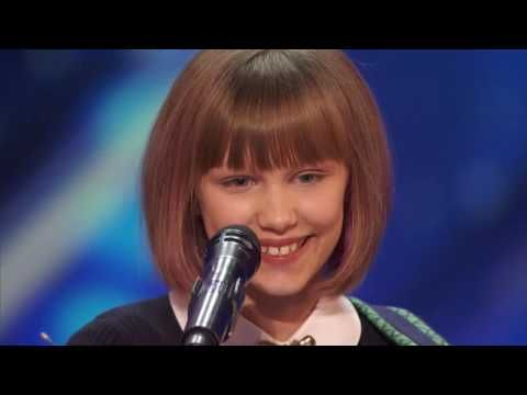 Grace VanderWaal 12 Year Old Ukulele Player Gets Golden Buzzer America's Got Talent 2016 - YouTube