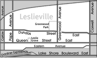 Toronto Neighbourhood Guide - Leslieville - Neighbourhoods