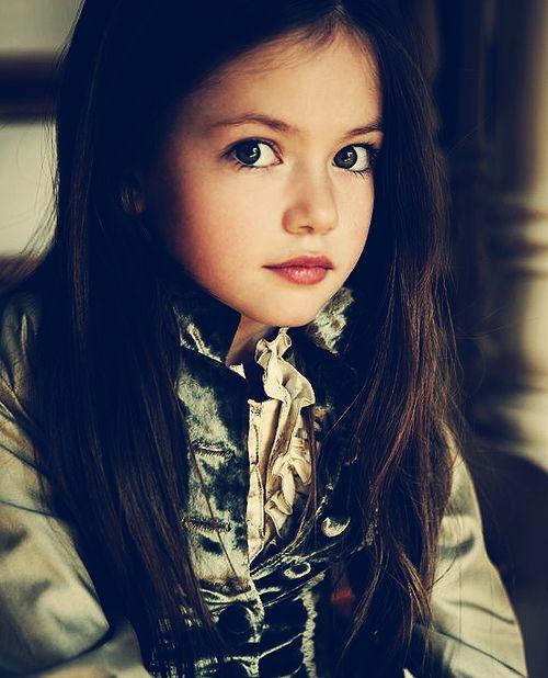 Such a beautiful little girl.