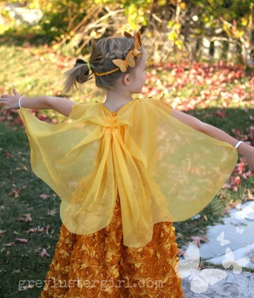 butterfly cape DIY
