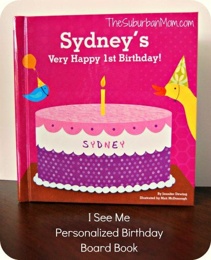i see me personalized birthday board book gift idea kids