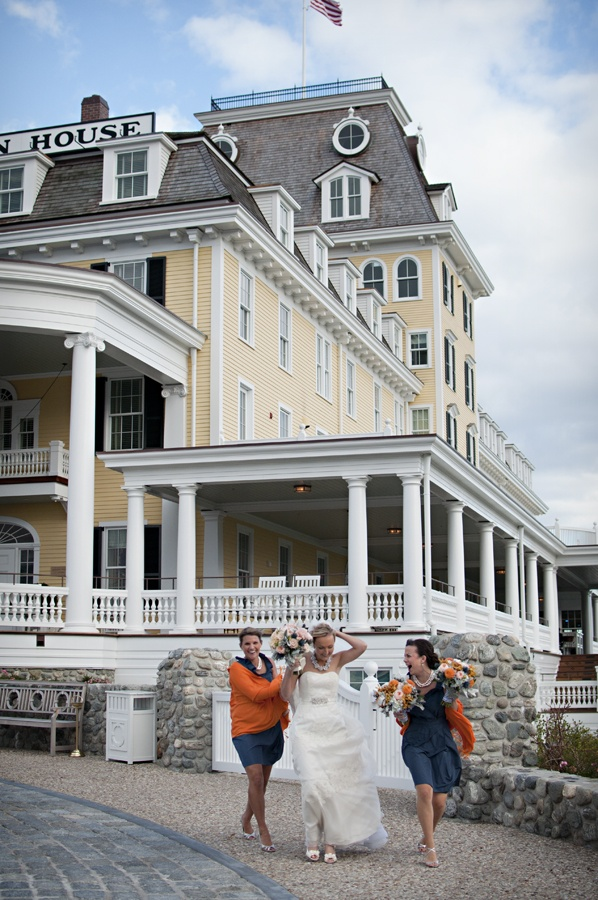 Relais & Chateaux - Perched high up on the bluffs of Watch Hill, Ocean House is one of the last remaining oceanfront hotels in New England. Ocean House, USA #relaischateaux #love #friends