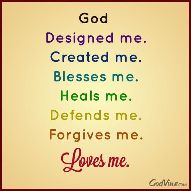 25+ best ideas about God loves me on Pinterest | Opposite of often ...