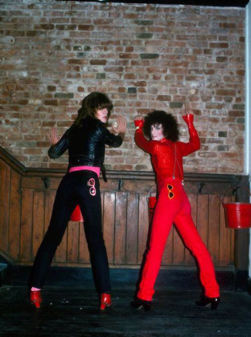 David Johansen and Sylvain Sylvain of the New York Dolls ...