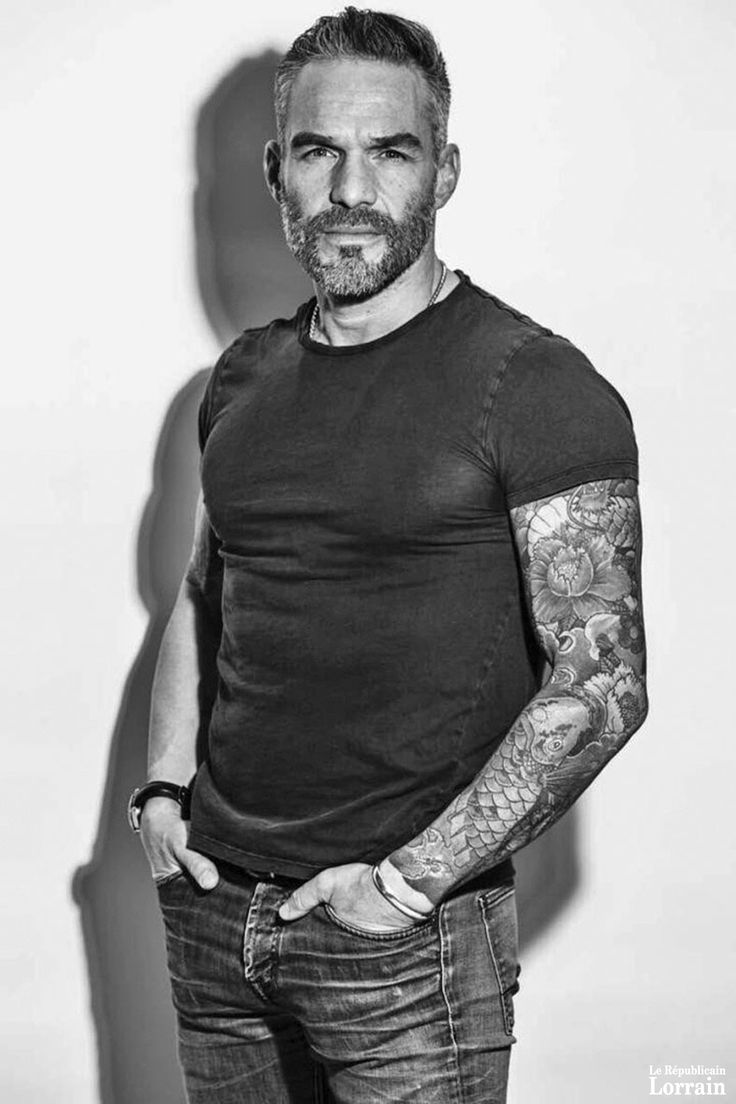 Philippe Bas 2017 #beaugosse #actor #french #tattoo #sport