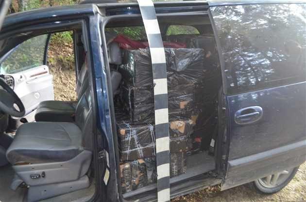 Politistii de frontiera au confiscat in cadrul mai multor actiuni pentru combaterea contrabandei peste 18.000 pachete tigari